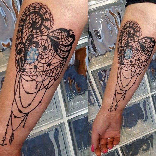 Lace Tattoo_