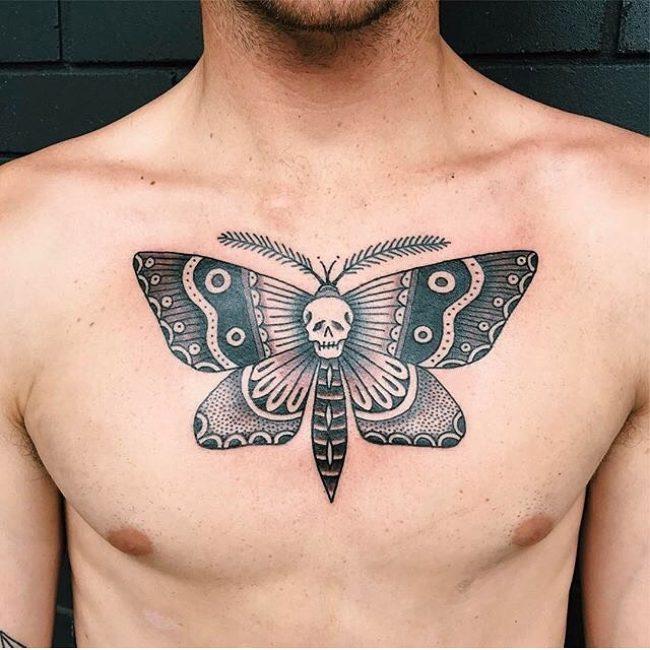 Moth Tattoo_