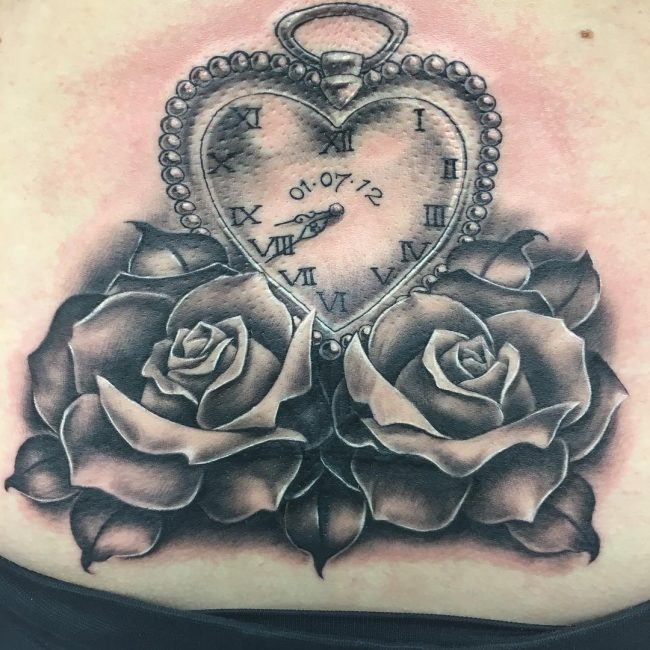 Pocket Watch Tattoo_