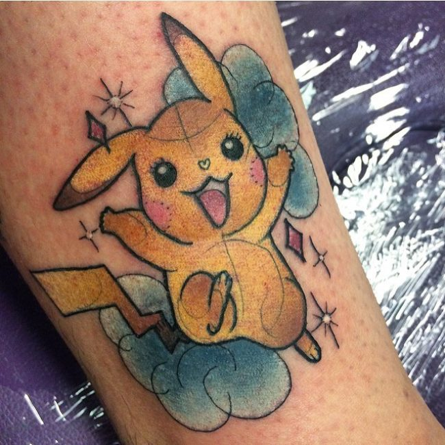 Pokemon Tattoo_