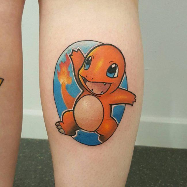 Pokemon Tattoo_
