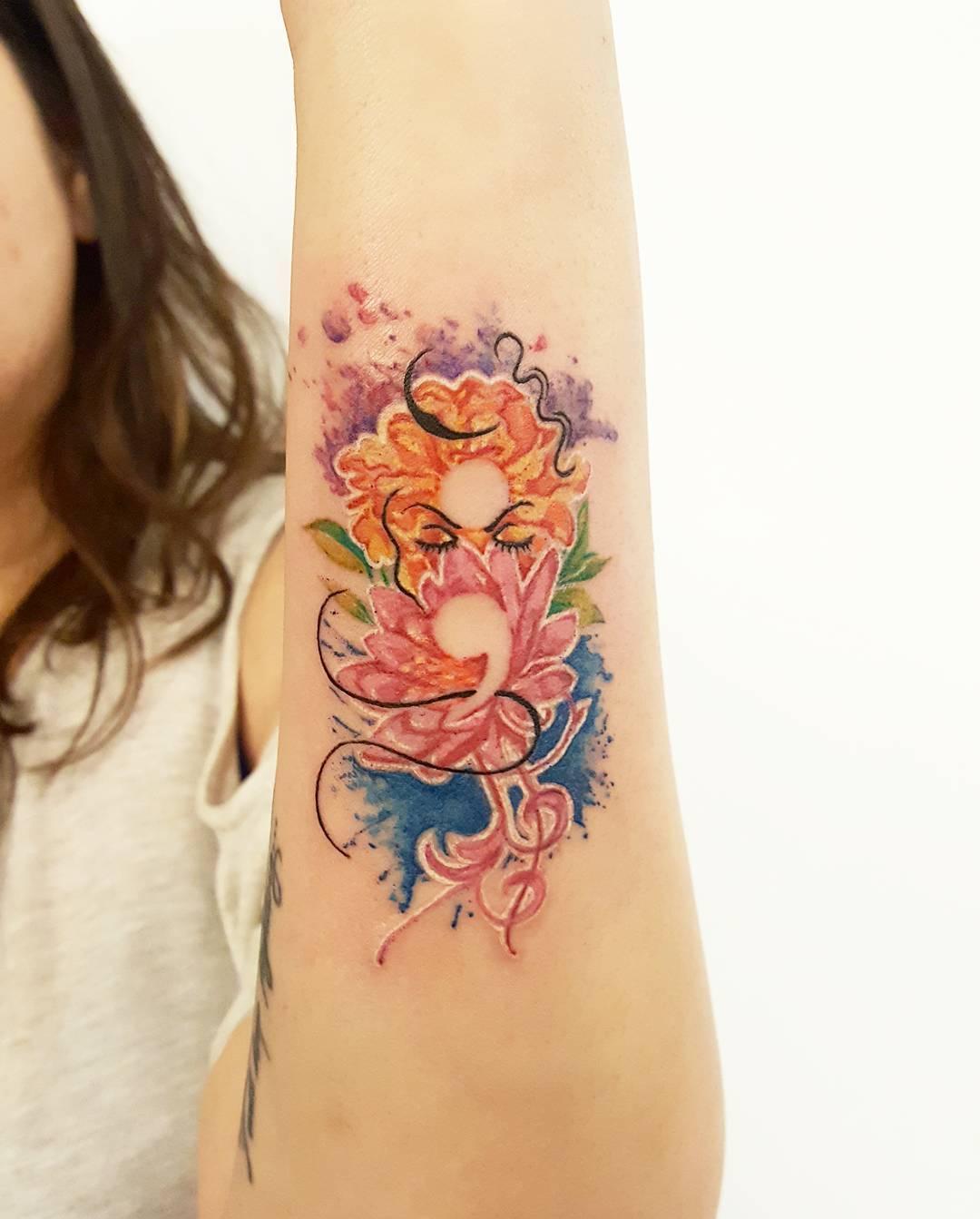 Semicolon Tattoo Design: 60+ Encouraging Semicolon Tattoo Ideas