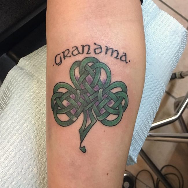Shamrock Tattoo_