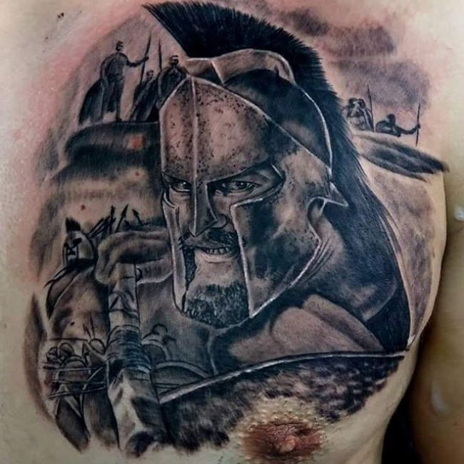 Spartan Tattoo_