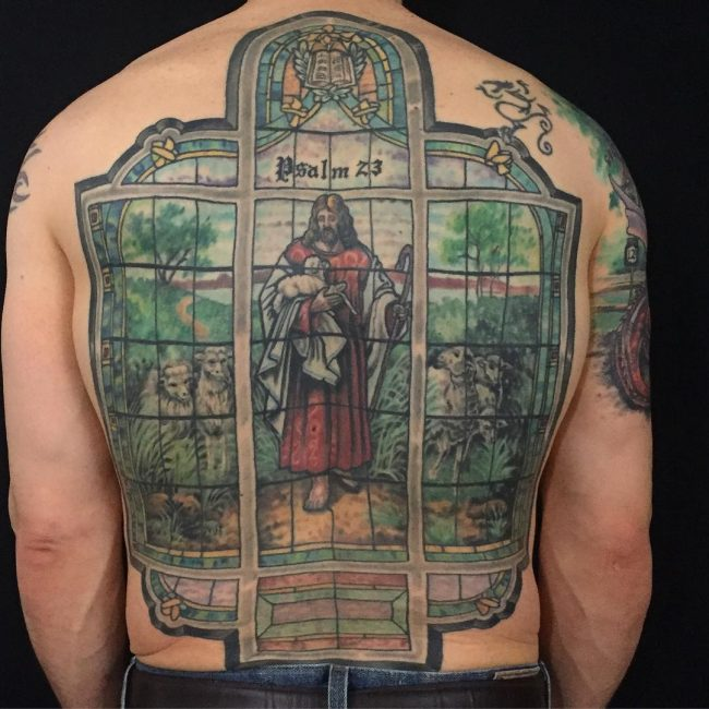 75 Dazzling Stained Glass Tattoo Ideas Nothing Less Than A Work
