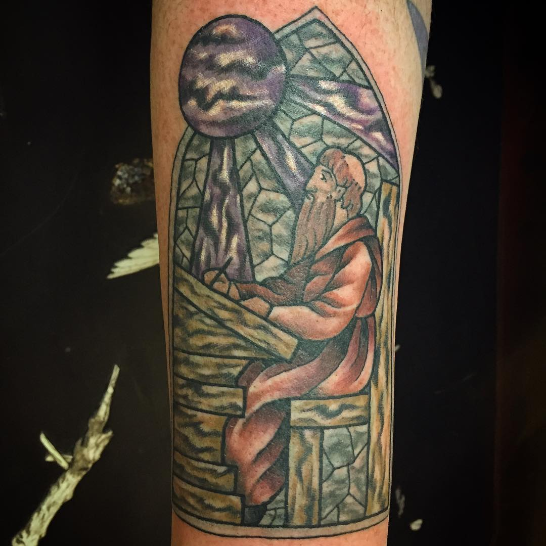 75 dazzling stained glass tattoo ideas nothing less than for Does tattoo goo really work