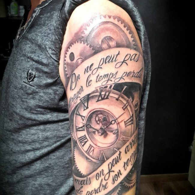 Steampunk Tattoo_