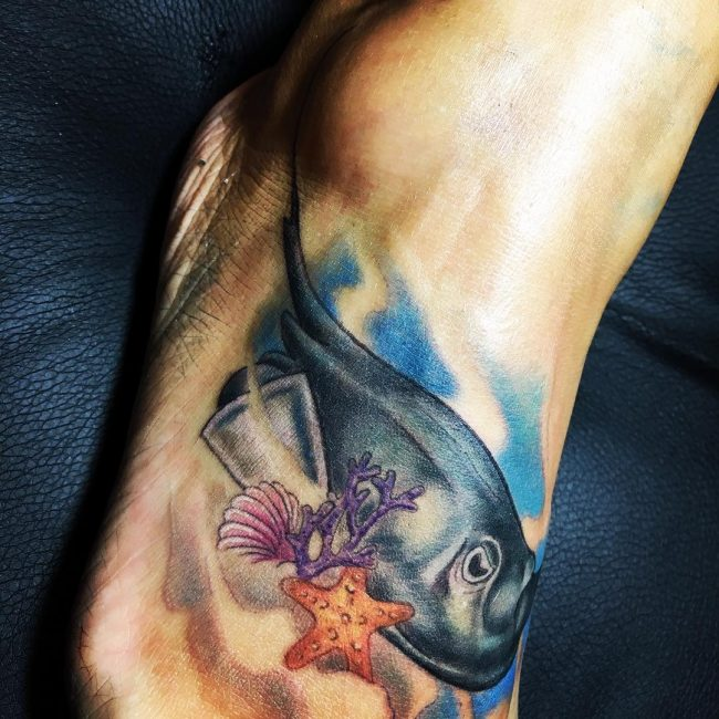 Stingray Tattoo_