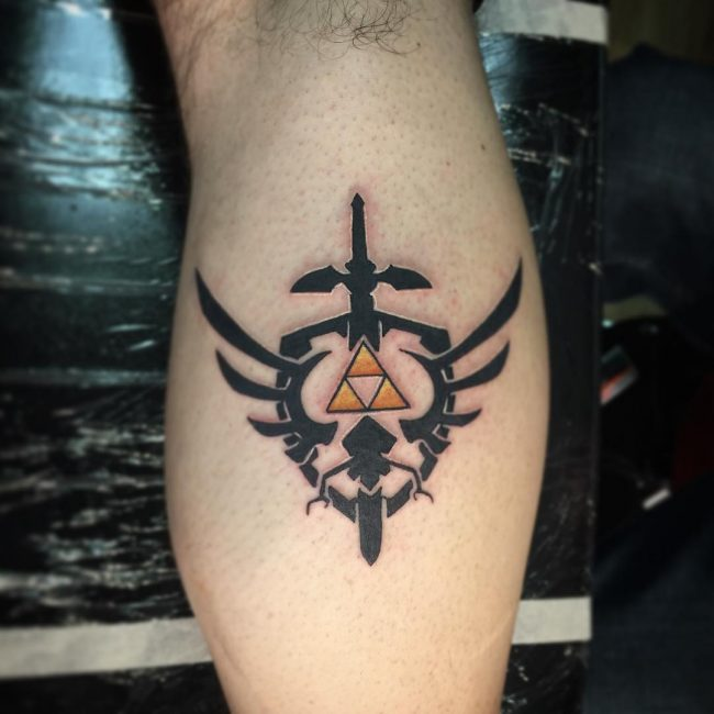 Triforce Tattoo_