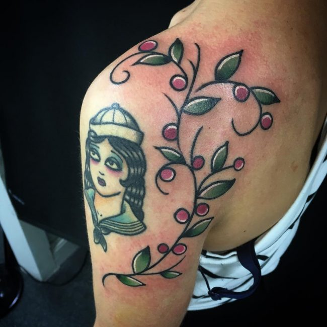 Vine Tattoo_
