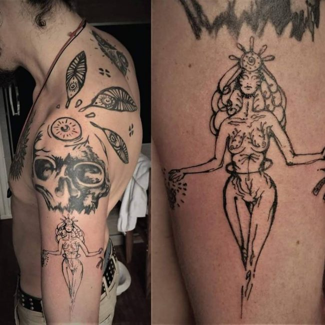 Virgo Tattoo_