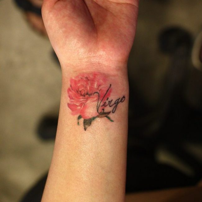 Virgo Tattoo_