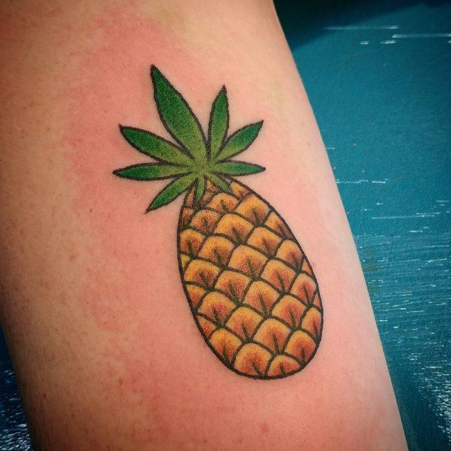 Weed Tattoo_