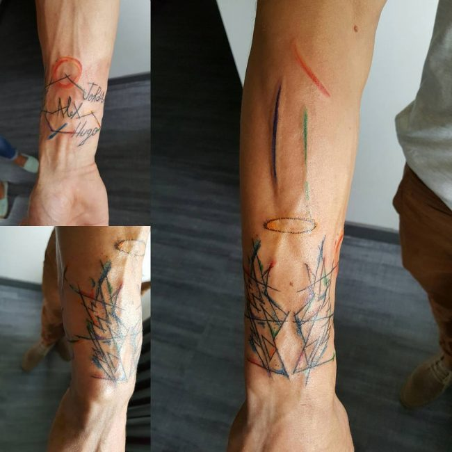 abstract tattoo11