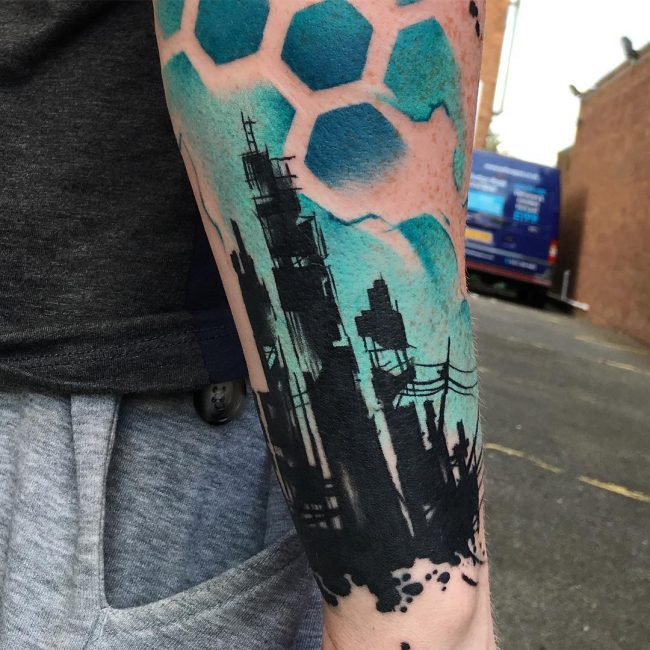 abstract tattoo16