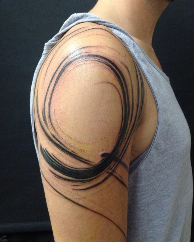 abstract tattoo24