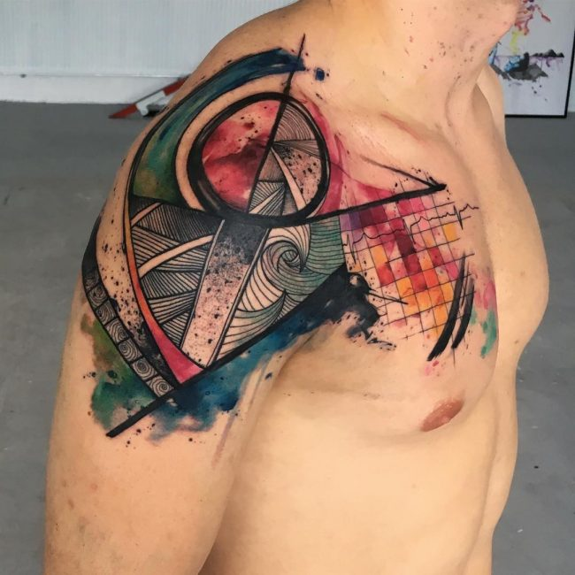 abstract tattoo26