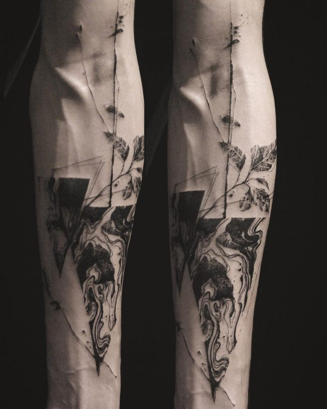 abstract tattoo37