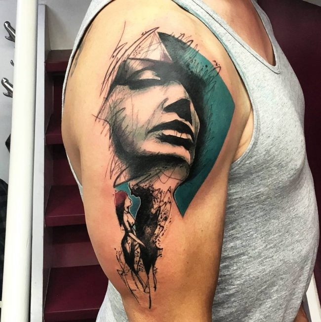 abstract tattoo38