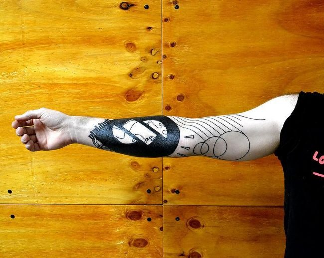 abstract tattoo7