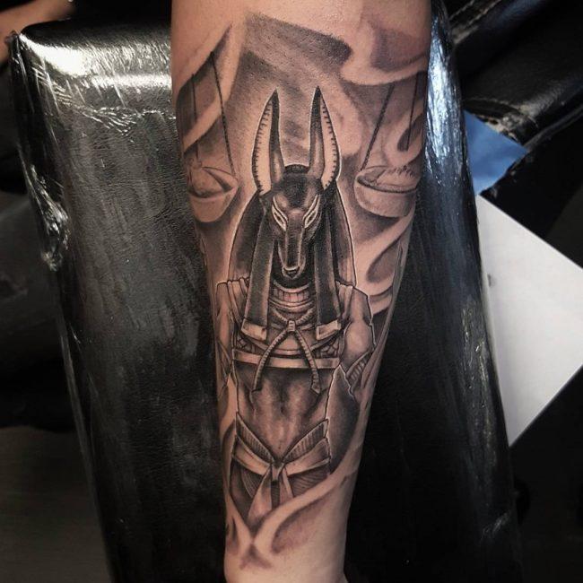anubis tattoo10
