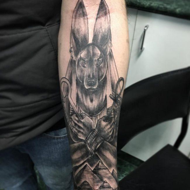 anubis tattoo11