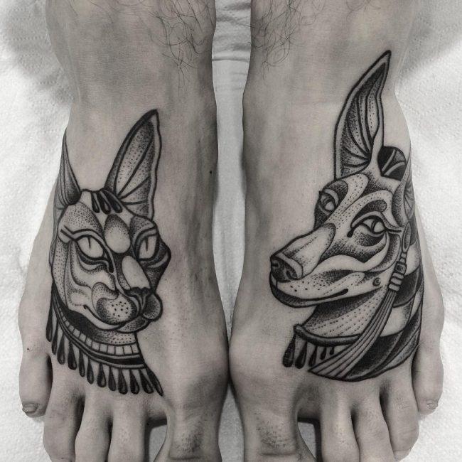 anubis tattoo15
