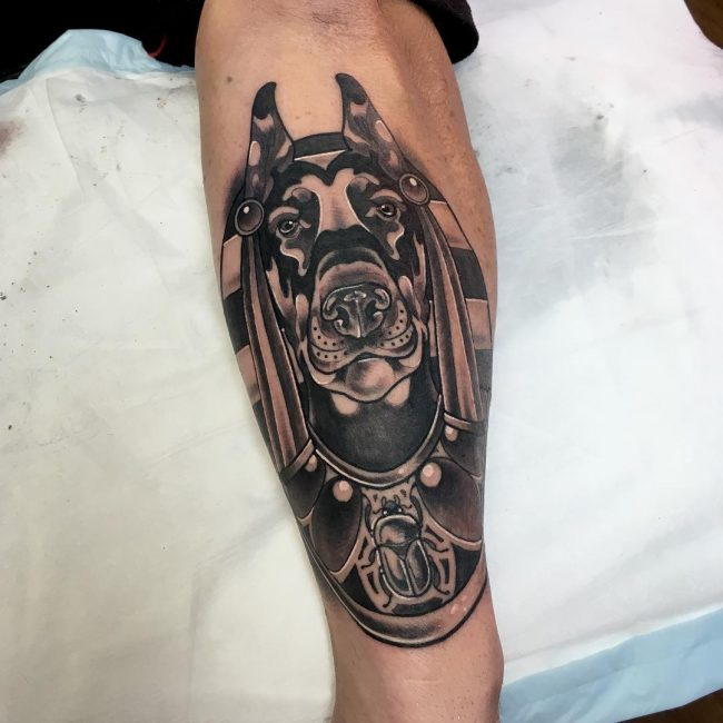 anubis tattoo17