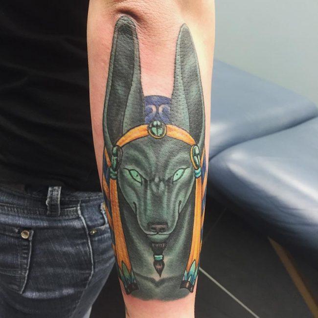 anubis tattoo18