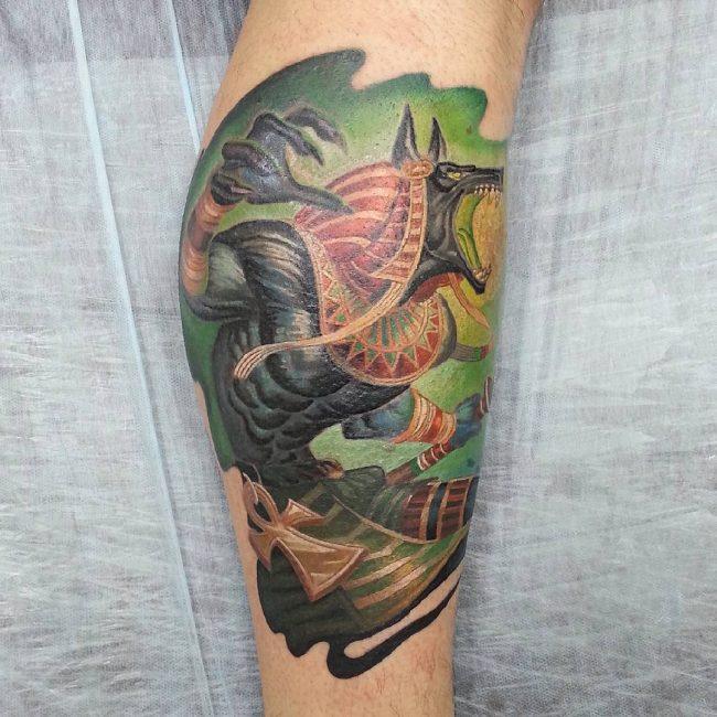 anubis tattoo21