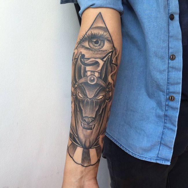 anubis tattoo23