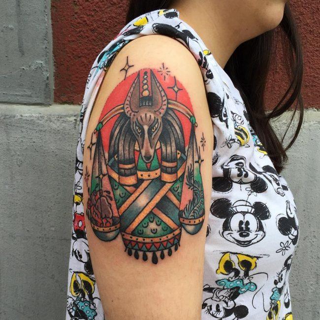 anubis tattoo25