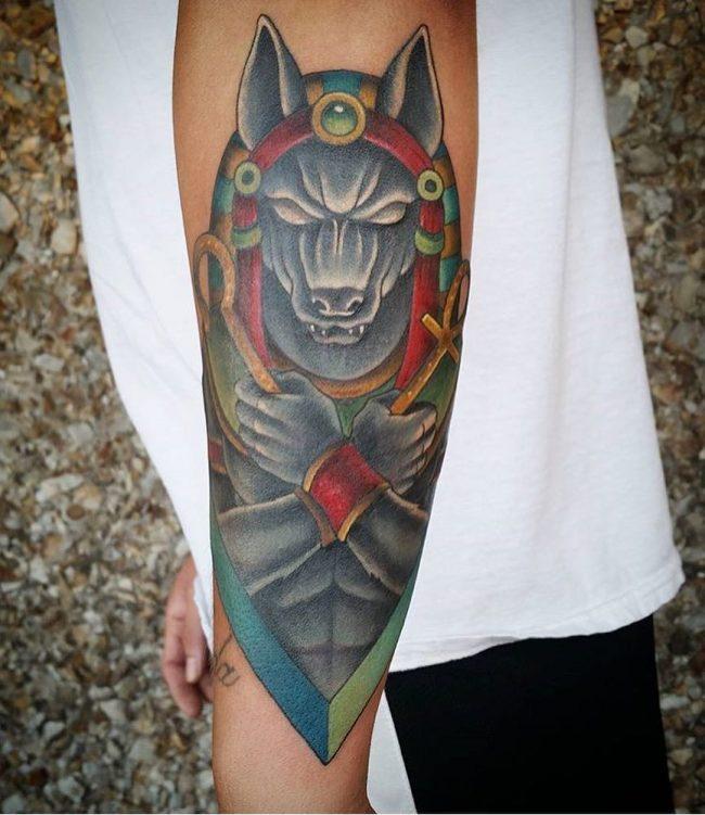 anubis tattoo27