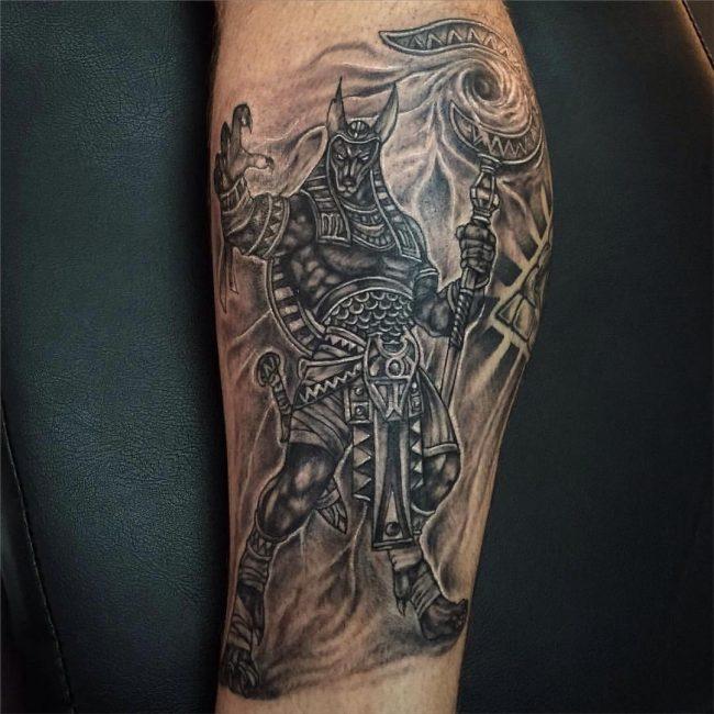 anubis tattoo33