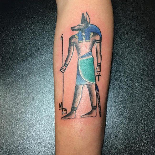 anubis tattoo34