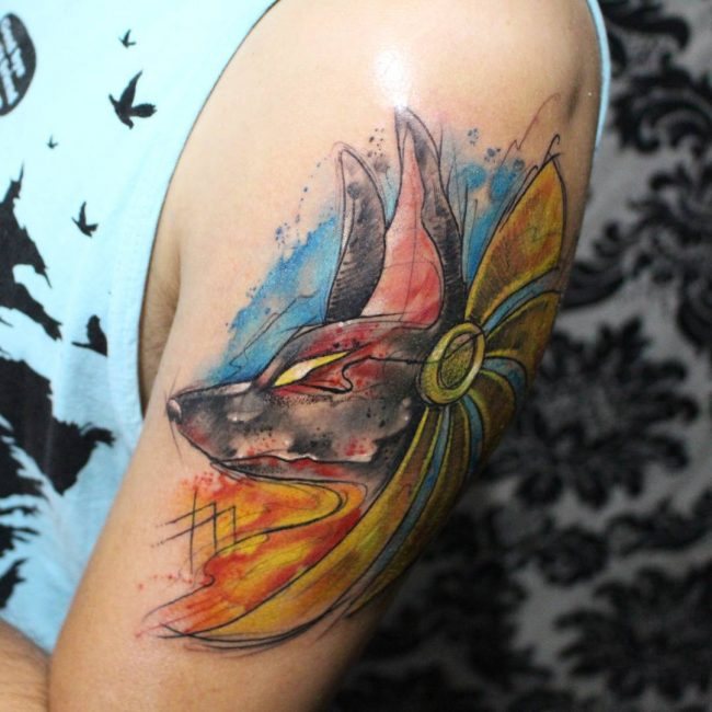 anubis tattoo35