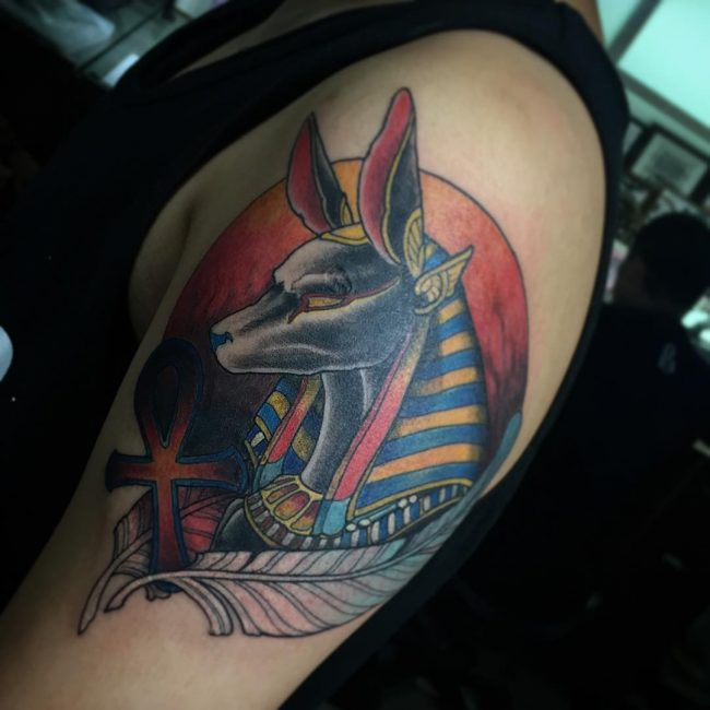 anubis tattoo37
