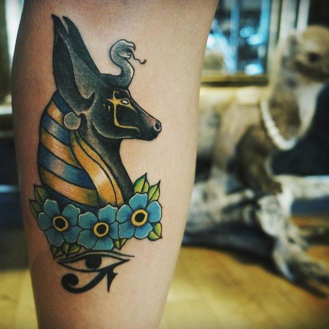 anubis tattoo38