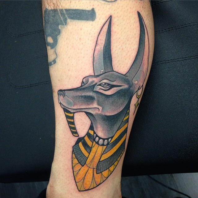 anubis tattoo43