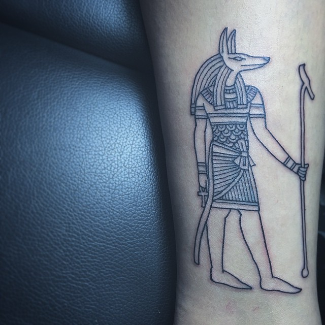 anubis tattoo44
