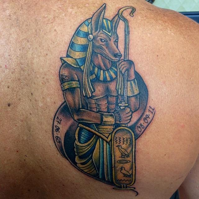 anubis tattoo48