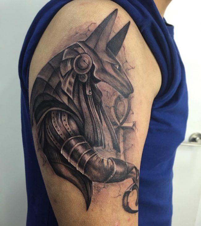 anubis tattoo49