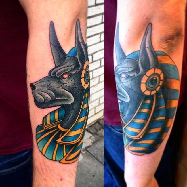 anubis tattoo50