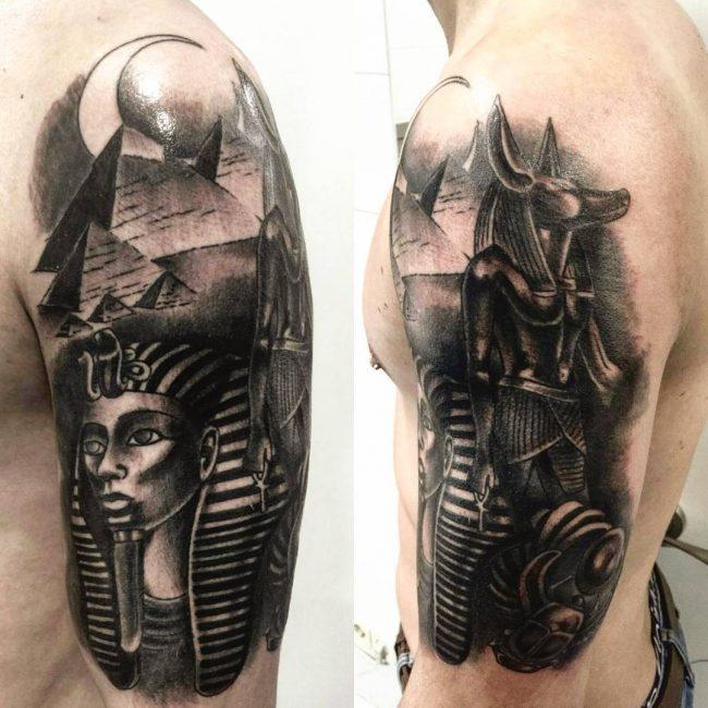 anubis tattoo56
