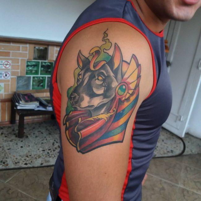 anubis tattoo57
