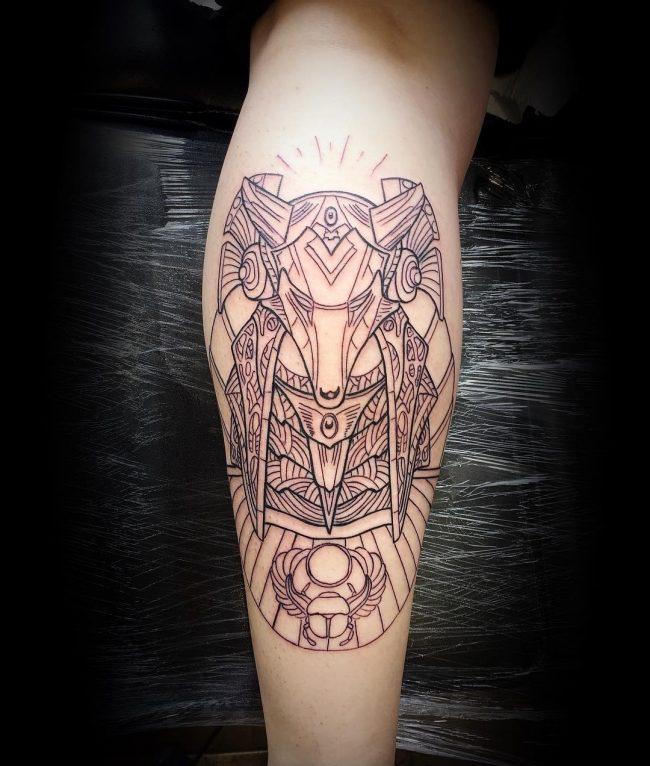 anubis tattoo59