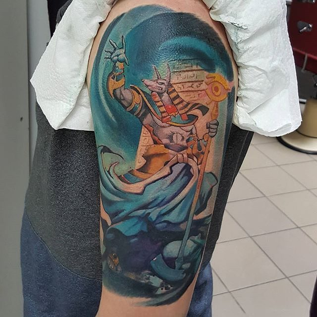 anubis tattoo6