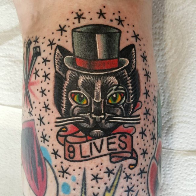 black cat tattoo12