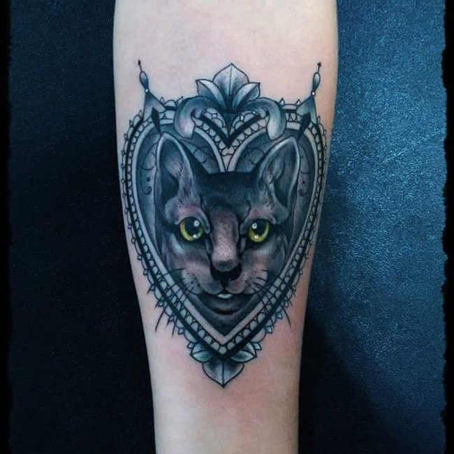 black cat tattoo24