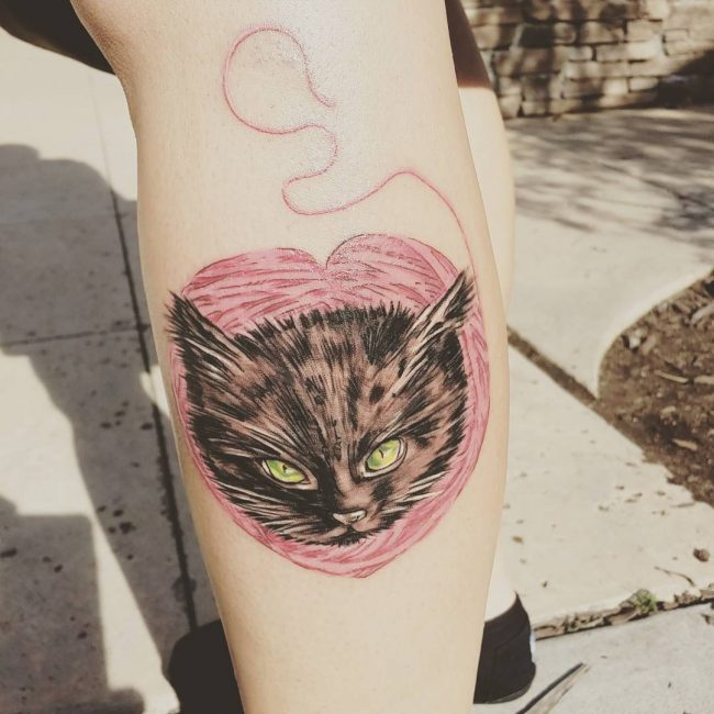 black cat tattoo25